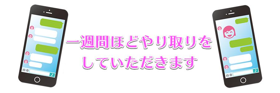 LINEお見合いのポイント3